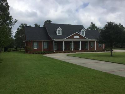 Jesup Single Family Home For Sale: 13 Eagle Drive