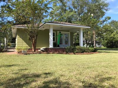 Jesup Single Family Home For Sale: 633 S 6th Street