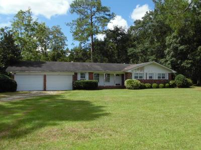 Jesup Single Family Home For Sale: 4250 Hwy 341 South