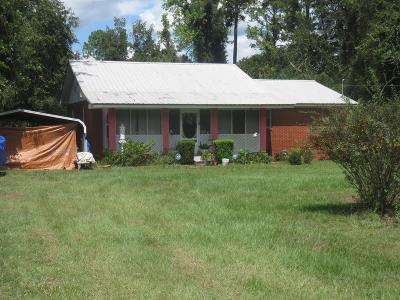 Jesup Single Family Home For Sale: 606 S 6th Street