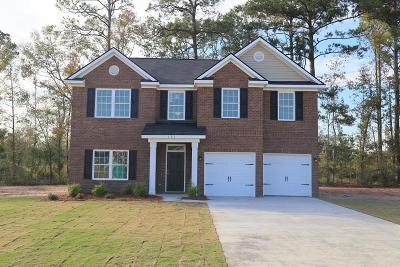 Ludowici Single Family Home For Sale: 131 Red Rock Court NE
