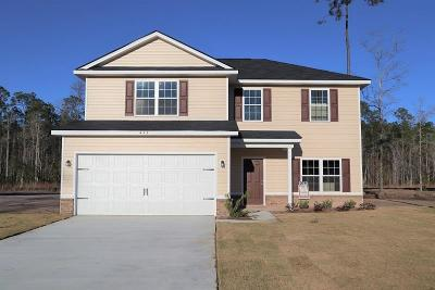 Ludowici GA Single Family Home For Sale: $187,735