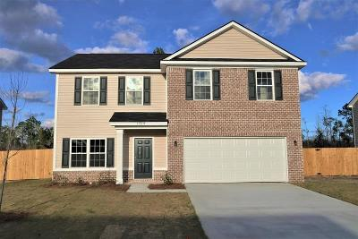 HINESVILLE Single Family Home For Sale: 1319 Windrow Drive