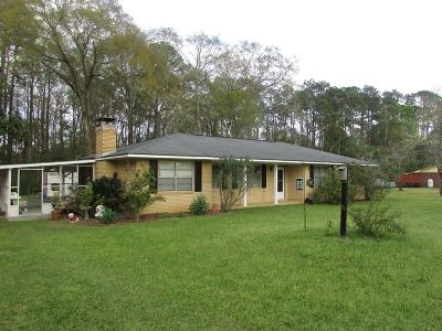 Glennville Single Family Home For Sale: 108 Eula Street