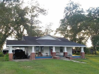 Glennville GA Single Family Home For Sale: $93,000