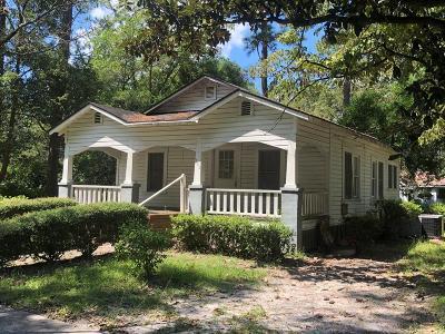 Jesup Single Family Home For Sale: 262 Palm Street