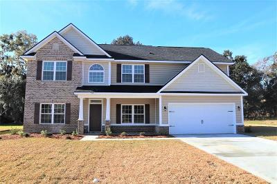 Hinesville Single Family Home For Sale: 52 Flemington Oaks Drive