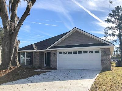 Dunlevie Oaks Single Family Home For Sale: 11 Maggie Lane