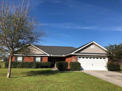 Ludowici Single Family Home For Sale: 641 Mancey Garrason Loop NE