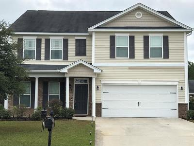 Pooler Single Family Home For Sale: 131 Somersby Boulevard