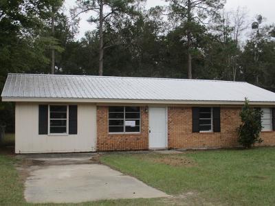 Jesup Single Family Home For Sale: 135 Berkley Drive