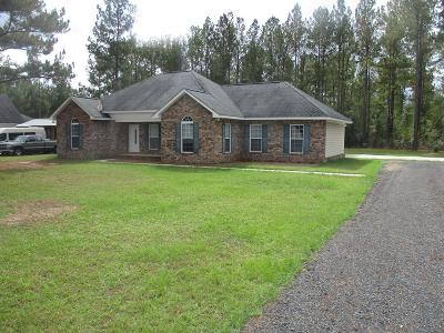 Ludowici Single Family Home For Sale: 2840 Buster Phillips Road SE