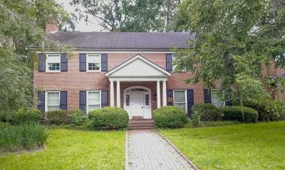 Savannah Single Family Home For Sale: 211 Lee Boulevard
