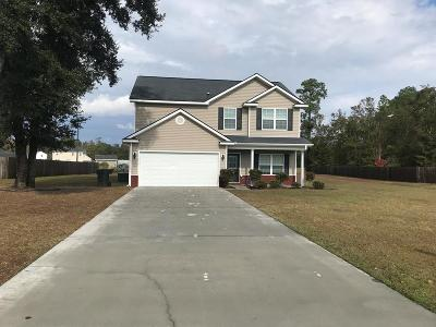 Ludowici Single Family Home For Sale: 75 Balearic Trail NE