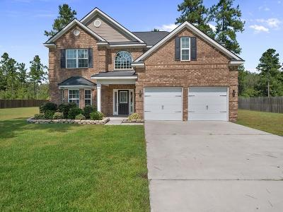 Ludowici Single Family Home For Sale: 470 Briarcrest Drive NE