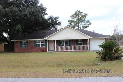 Hinesville Single Family Home For Sale: 291 Cowart Road