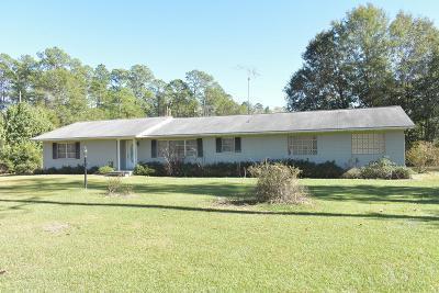 Ludowici Single Family Home For Sale: 874 Lanier Road NE