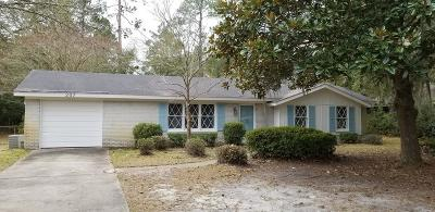 Hinesville Single Family Home For Sale: 207 W General Stewart Way