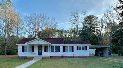 Jesup Single Family Home For Sale: 3850 Rayonier Road