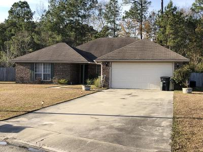Hinesville Single Family Home For Sale: 247 West Daryl Drive