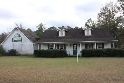 Glennville Single Family Home For Sale: 201 Willow Drive