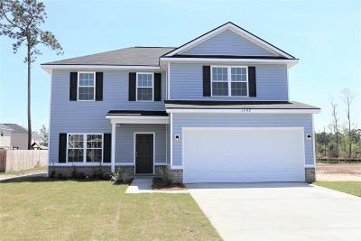 Hinesville Single Family Home For Sale: 1597 Longleaf Court