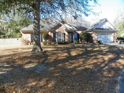 Hinesville Single Family Home For Sale: 1154 Chesapeake Lane