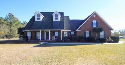 Jesup Single Family Home For Sale: 19 Alex Lane