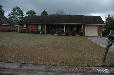 Hinesville Single Family Home For Sale: 2161 Walberg Drive