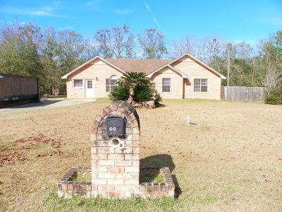 Hinesville GA Single Family Home For Sale: $115,000