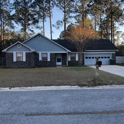 Hinesville GA Single Family Home For Sale: $120,000