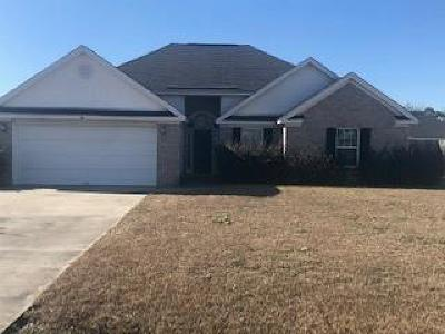 Glennville Single Family Home For Sale: 110 Auburn Circle