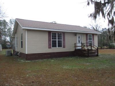 jesup Single Family Home For Sale: 316 N Osceola Trail