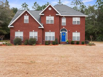 Jesup Single Family Home For Sale: 160 Melody Lane