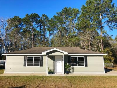 Hinesville Single Family Home For Sale: 638 Fleming Road
