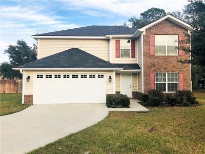 Hinesville GA Single Family Home For Sale: $179,995