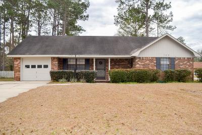 Hinesville Single Family Home For Sale: 705 Friar Tuck Lane