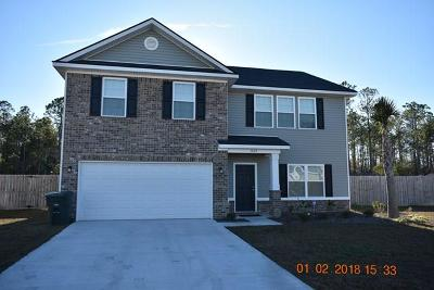 Hinesville Single Family Home For Sale: 1409 Evergreen Trail