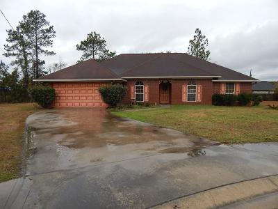 Hinesville Single Family Home For Sale: 1408 Crawford Court