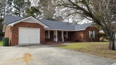 Hinesville Single Family Home For Sale: 383 Meloney Drive