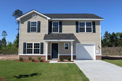 Hinesville Single Family Home For Sale: 1900 Wiregrass Way