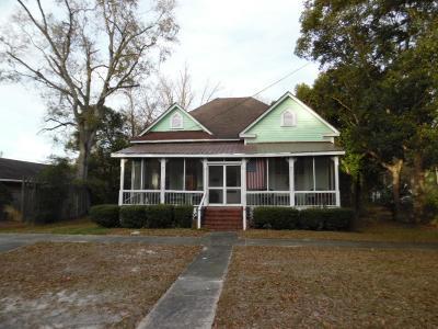 Jesup Single Family Home For Sale: 323 East Cherry Street