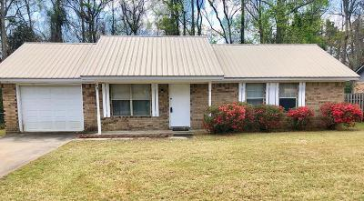 Hinesville GA Single Family Home For Sale: $79,900