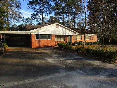 Jesup Single Family Home For Sale: 1013 South Palm Street
