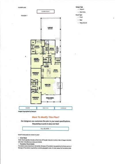 Midway Single Family Home For Sale: Lot 18 Goodman Drive