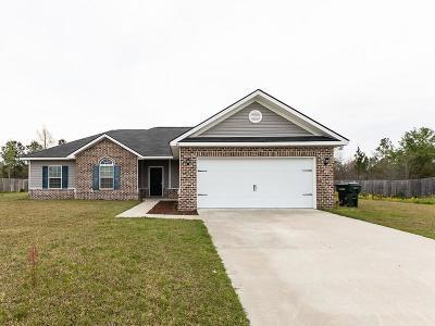 Ludowici Single Family Home For Sale: 60 White Oak Drive NE