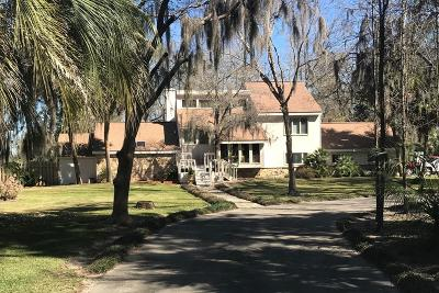 Jesup Single Family Home For Sale: 360 Altamaha Road