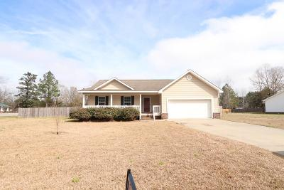 Ludowici Single Family Home For Sale: 25 Kalynne Way NE