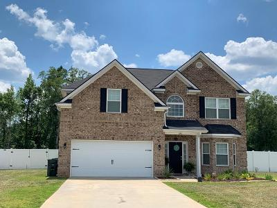 Hinesville Single Family Home For Sale: 640 Red Oak Lane