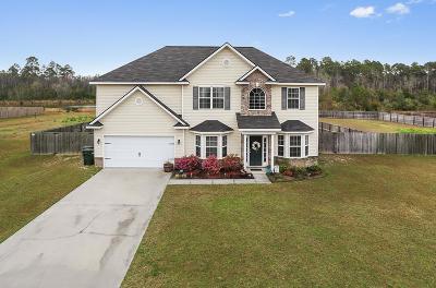 Ludowici Single Family Home For Sale: 532 Mustang Lane NE